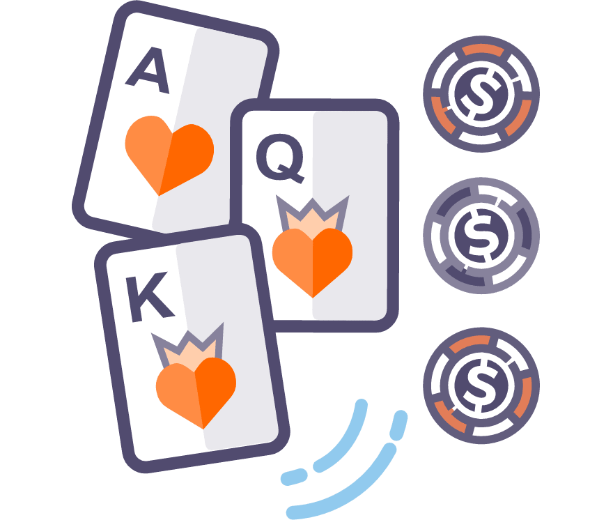 Joacă Live Three Card Poker
